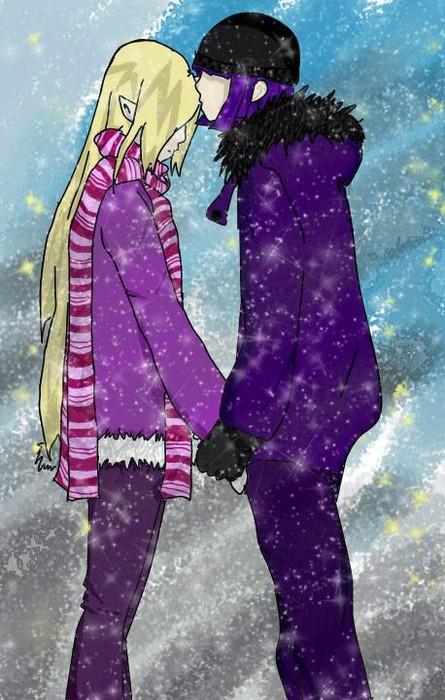 Love in the winter by Xellosfan