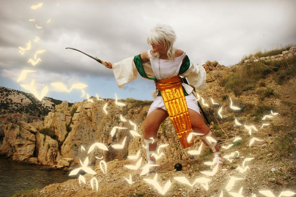 Best swordsmanship teacher by Xellosfan