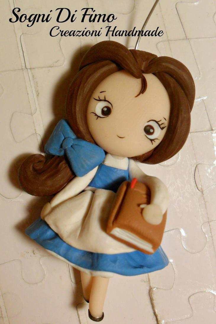Beauty Belle Disney Fimo by SogniDiFimoCReazioni