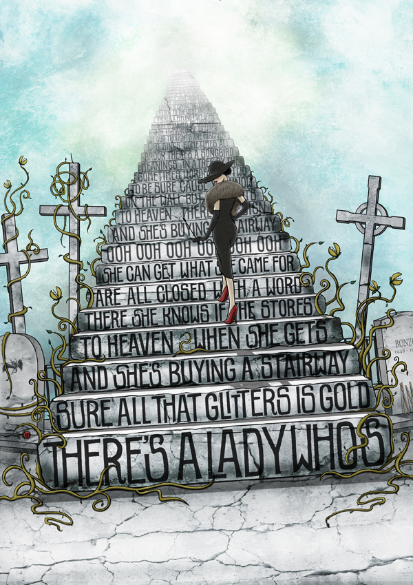 Stairway to heaven by Nour-T on DeviantArt