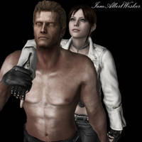 Wesker and Claire - Loyalty by IamAlbertWesker