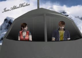 Claire and Steve - Autopilot by IamAlbertWesker