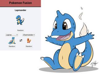 Pokemon Fusion - Lapmander by Fakskis