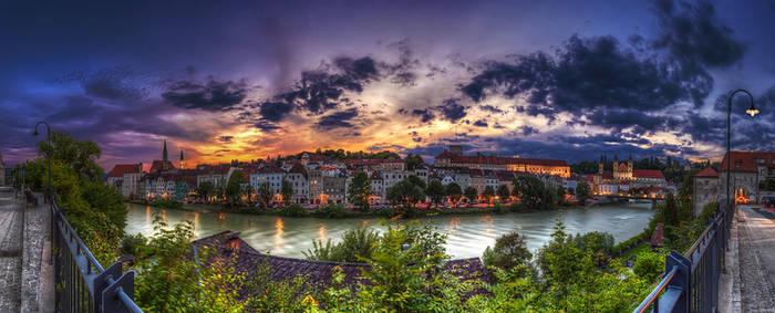 Sunset At Steyr