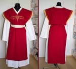 Everyday costume of a Praios priest in TDE