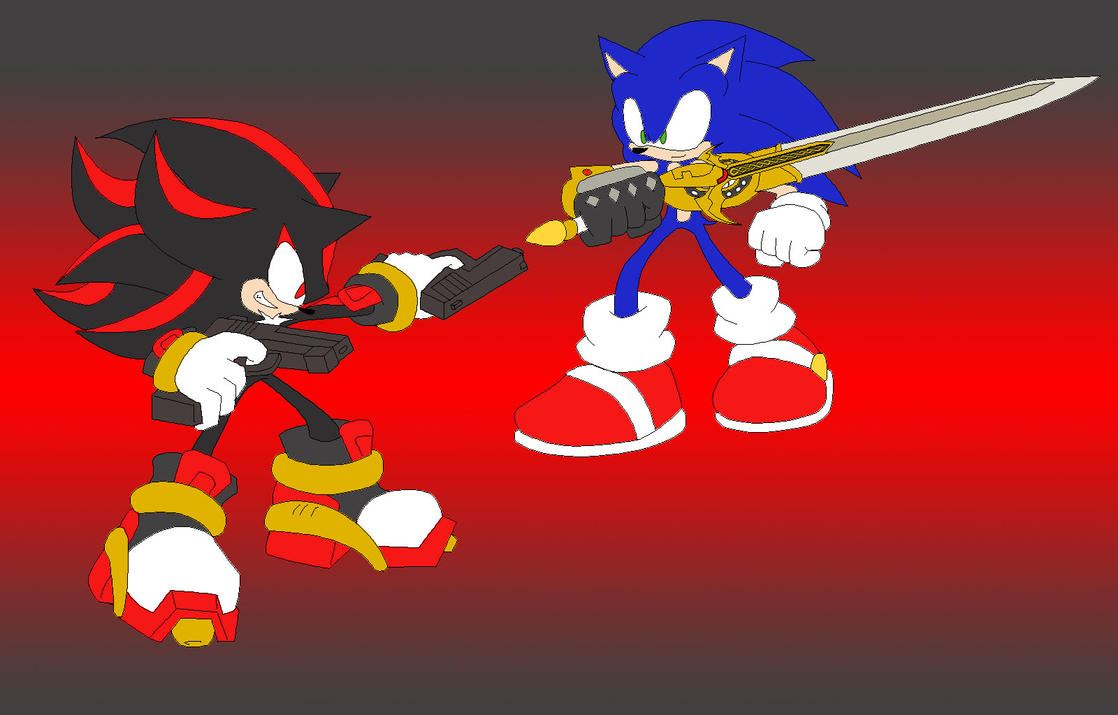Pictures of Shadow The Hedgehog With A Sword - #rock-cafe