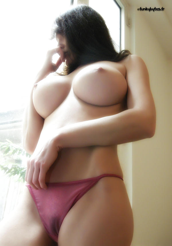 Girls with big tits and cock
