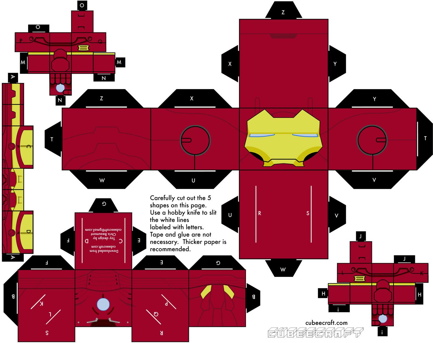 cubeecraftt mas de 100 personajes armables entra! by tuxilia