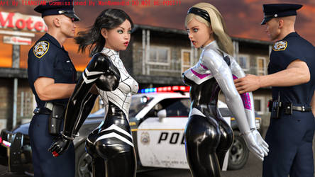 SpiderVerse Arrest 1