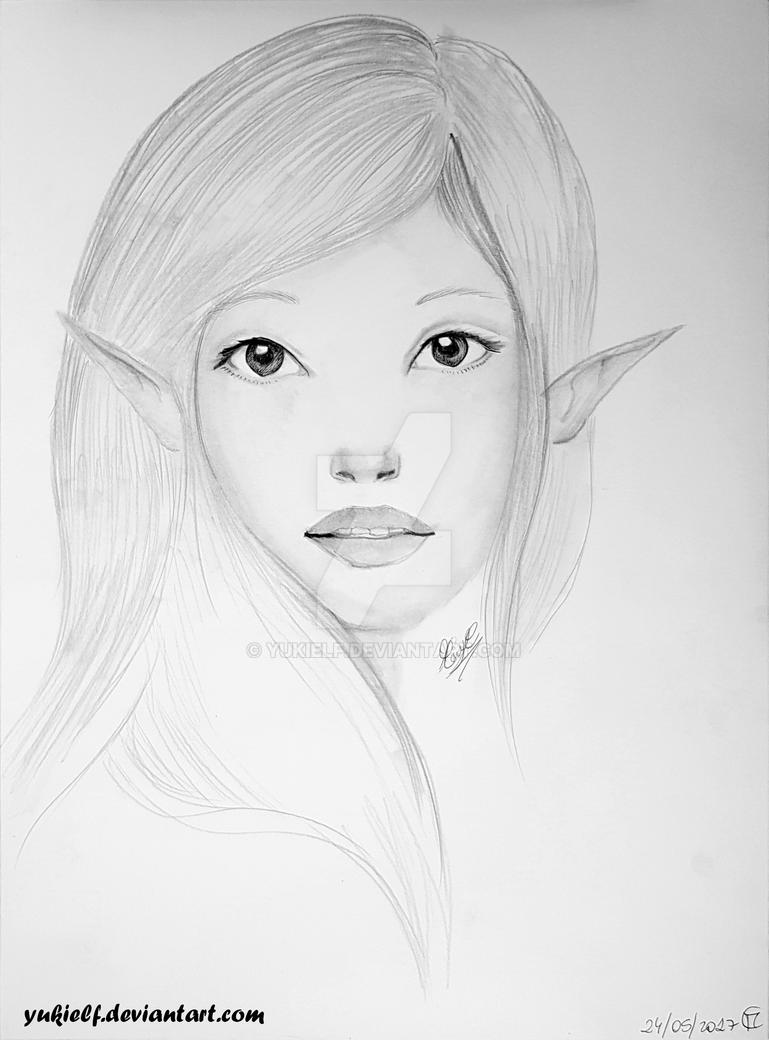 Elf girls_2 :D by Yukielf