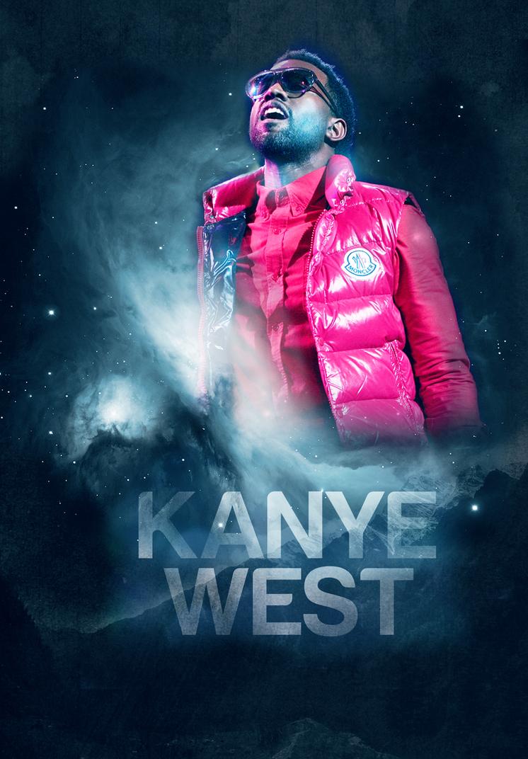 kanye west concert poster
