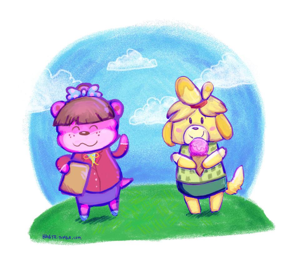 Animal Crossing cuties by bugbyte