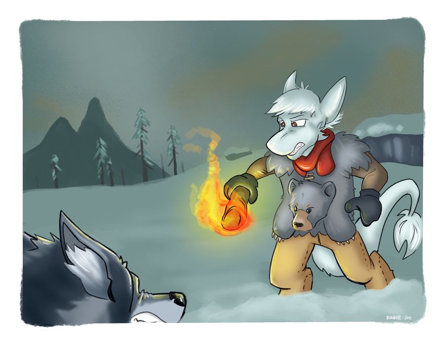 A Chio in the Long Dark (Patreon commission) by bugbyte