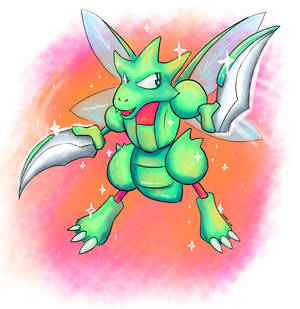 Scyther Surprise