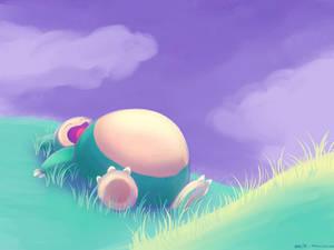 Snorlax nap