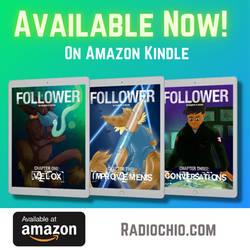 Follower is now available on the Kindle store!