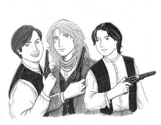 Three Teenage Outlaws