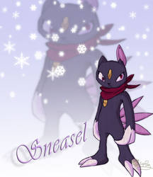 Sneasel  Ice type by IzaPug