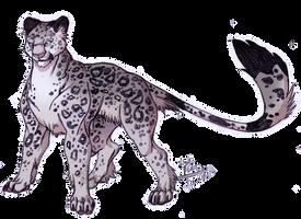 Snow Leopard by IzaPug