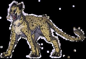 Angry Cheetah by IzaPug
