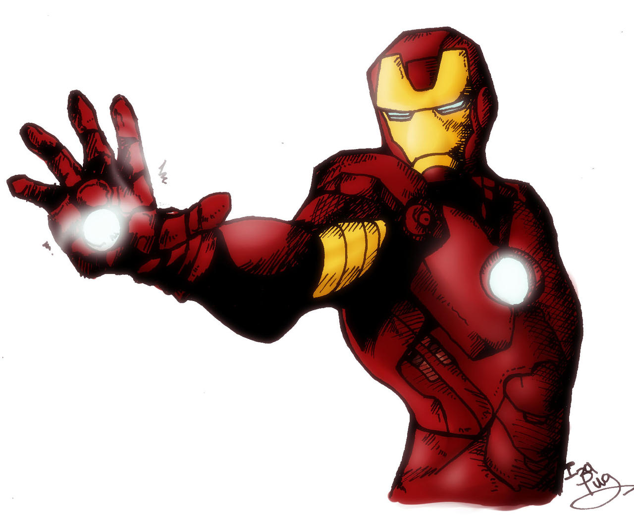 Yes, I'm IRONMAN by IzaPug on DeviantArt