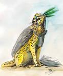 Fantasy Cheetah by IzaPug