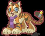 Cartoon Tiger by IzaPug