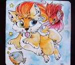 Delirium Wolf - Card
