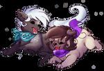 Gift - Silhouette and IzaPug