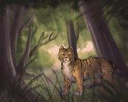Deep Forest by IzaPug