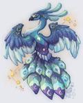 Peacock Cosmic by IzaPug