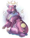 Lunar Bear by IzaPug
