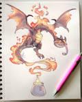 Candle Dragon
