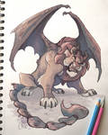Angry Manticore