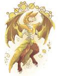 Yellow Diamond Dragon