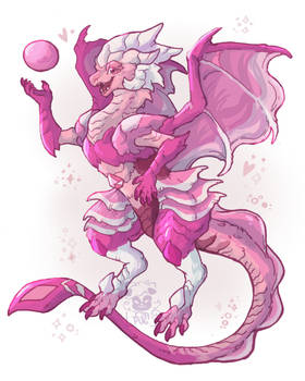 Pink Diamond Dragon