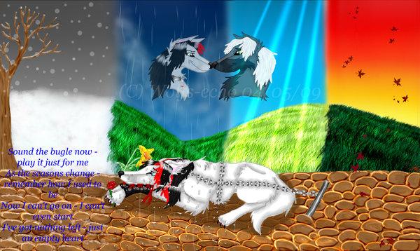 Sound the Bugle - Wolfs-echo by ArtOfThePawAndFang