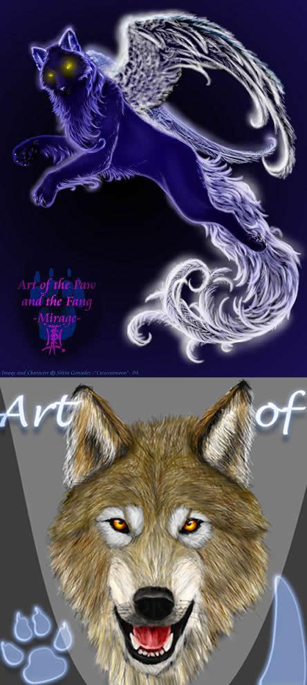 ArtOfThePawAndFang ID by ArtOfThePawAndFang
