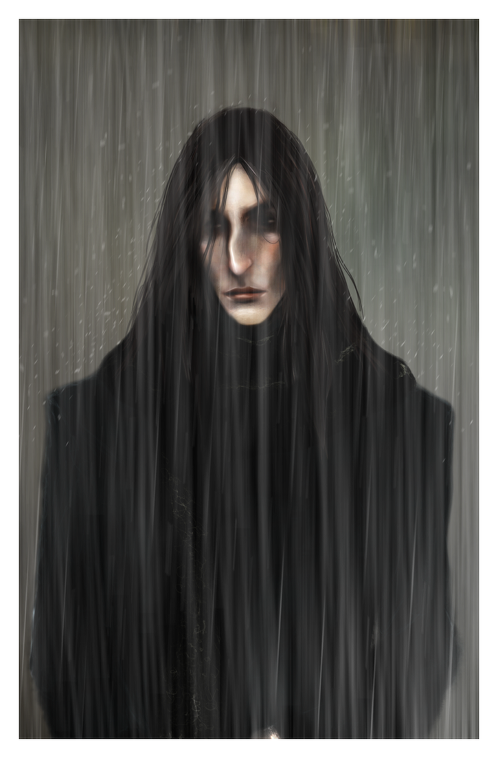 In the rain by Patilda