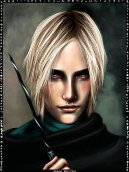Draco Malfoy card