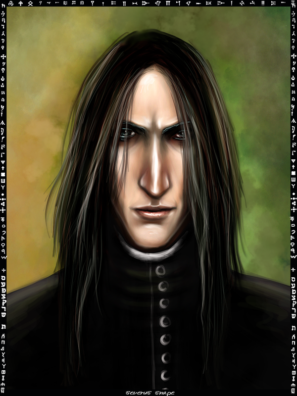 Severus Snape card by Patilda