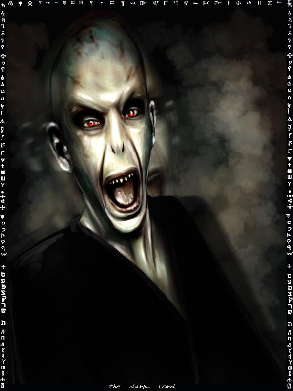 The Dark Lord card by Patilda