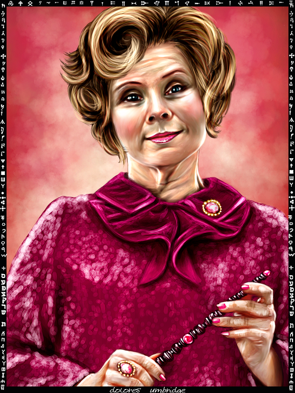 Dolores Umbridge card by Patilda