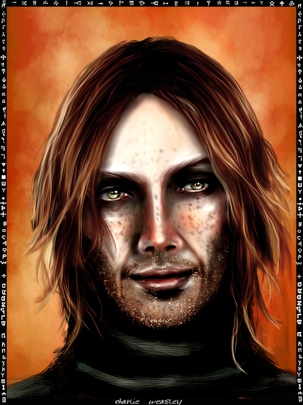 Charlie Weasley card by Patilda