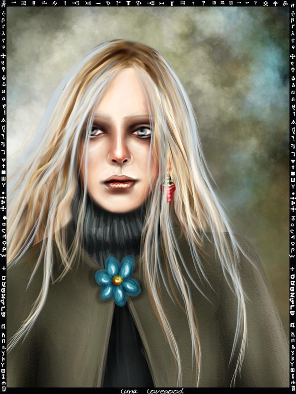 Luna Lovegood card by Patilda