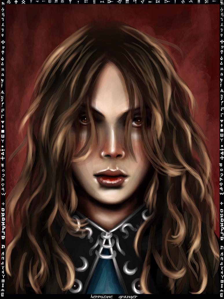 Hermione Granger card by Patilda