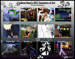 Haya's 2017 Summary Of Art by Iduna-Haya