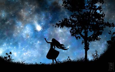 To catch a shooting star by Iduna-Haya