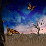 Flight of the Monarch