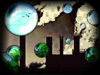 Bubbles of the Future by Keitilen